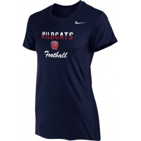Westview Football Boosters 12: Nike Women's Legend Short-Sleeve Training Top - Navy Blue