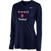Westview Football Boosters 15: Nike Women's Legend Long-Sleeve Training Top - Navy Blue