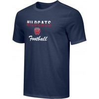 Westview Football Boosters 16: Adult-Size - Nike Combed Cotton Core Crew T-Shirt - Navy Blue