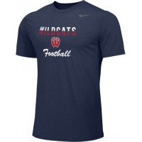 Westview Football Boosters 10: Adult-Size - Nike Team Legend Short-Sleeve Crew T-Shirt - Navy Blue